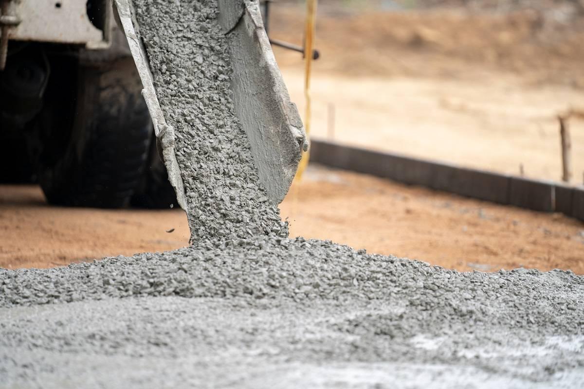 beton z gruszki